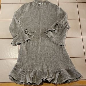 Sweater dress with cute bell sleeves.  XXL